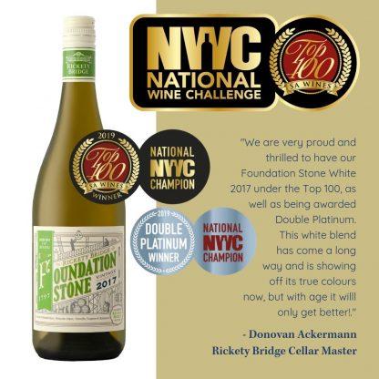 Rickety Bridge Foundation Stone White NYC Wine Challenge