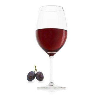 Set of 4 Red Wine Glasses