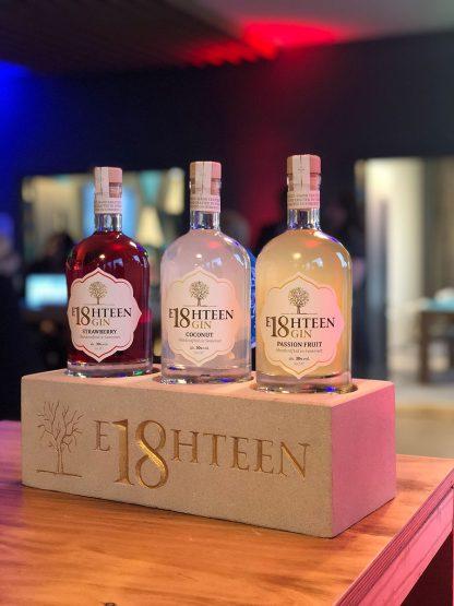 E18hteen Gin Bottles