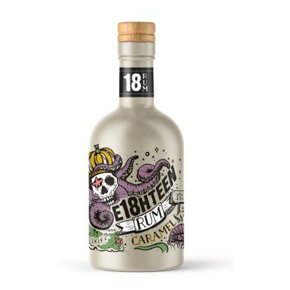 E18hteen Caramel Rum Drink 50cl
